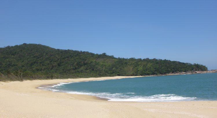 Praia da Lagoa em Ubatuba