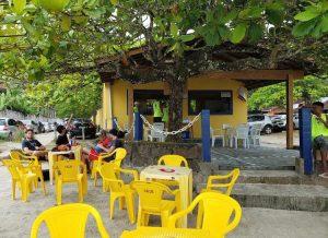 Quiosque da Mana, praia da enseada, Ubatuba / SP