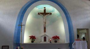 Capela de Santa Rita de Cassia, Praia da Enseada, Ubatuba, SP