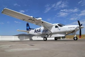 Foto do avião da Cia Azul retirada do site globo.com